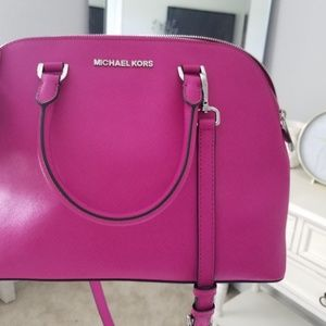 Fuchsia Michael Kors purse